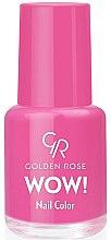 Düfte, Parfümerie und Kosmetik Nagellack - Golden Rose Wow Nail Color