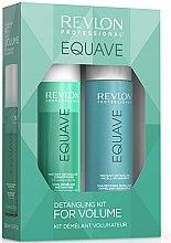 Düfte, Parfümerie und Kosmetik Haarpflegeset - Revlon Professional Equave Volume Detangling (Shampoo 250ml + Conditioner 200ml)
