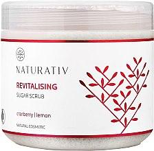 Düfte, Parfümerie und Kosmetik Revitalisierendes Zuckerpeeling für Körper mit Cranberry und Zitrone - Naturativ Revitalising Body Sugar Scrub
