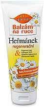 Düfte, Parfümerie und Kosmetik Regenerierender Handbalsam mit Arganöl, Koenzym Q10 und Hyaluronsäure - Bione Cosmetics Hermanek