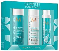 Düfte, Parfümerie und Kosmetik Haarpflegeset - Moroccanoil Color Complete (Shampoo 250ml + Haarspülung 250ml + Haarspray 160ml)