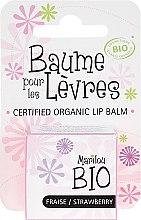 Düfte, Parfümerie und Kosmetik Lippenbalsam mit Erdbeeren Geschmack - Marilou Bio Certified Organic Lip Balm