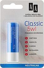 Düfte, Parfümerie und Kosmetik 5in1 Lippenbalsam - AA Cosmetics Classic Lipstick