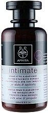 Sanfter Reinigungsschaum für die Intimhygiene mit Aloe und Propolis - Apivita Intimate  — Bild N2