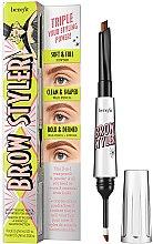 Düfte, Parfümerie und Kosmetik 2in1 Augenbrauenstift und -puder - Brow Styler Eyebrow Pencil & Powder Duo
