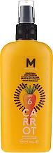 Düfte, Parfümerie und Kosmetik Wasserfestes Bräunungslotion-Spray für den Körper SPF 6 - Mediterraneo Sun Carrot Sunscreen Dark Tanning SPF6