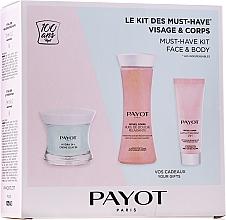 Düfte, Parfümerie und Kosmetik Gesichts- und Körperpflegeset - Payot Hydra 24+ Must-Have Kit Face & Body (Gesichtscreme 50ml + Duschöl 125ml + Körperlotion 25ml)