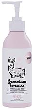 Düfte, Parfümerie und Kosmetik Natürliches Gel für die Intimhygiene mit Geranie und Cranberry - Yope