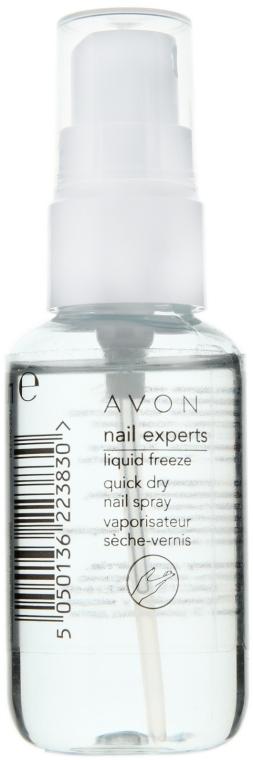 Nagellack-Schnelltrocknungsspray - Avon Nail Experts Liquid Freeze Quick Dry Nail Spray