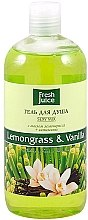 "Duschgel ""Zitronengras & Vanille"" - Fresh Juice Sexy Mix Lemongrass & Vanilla — Bild N2"