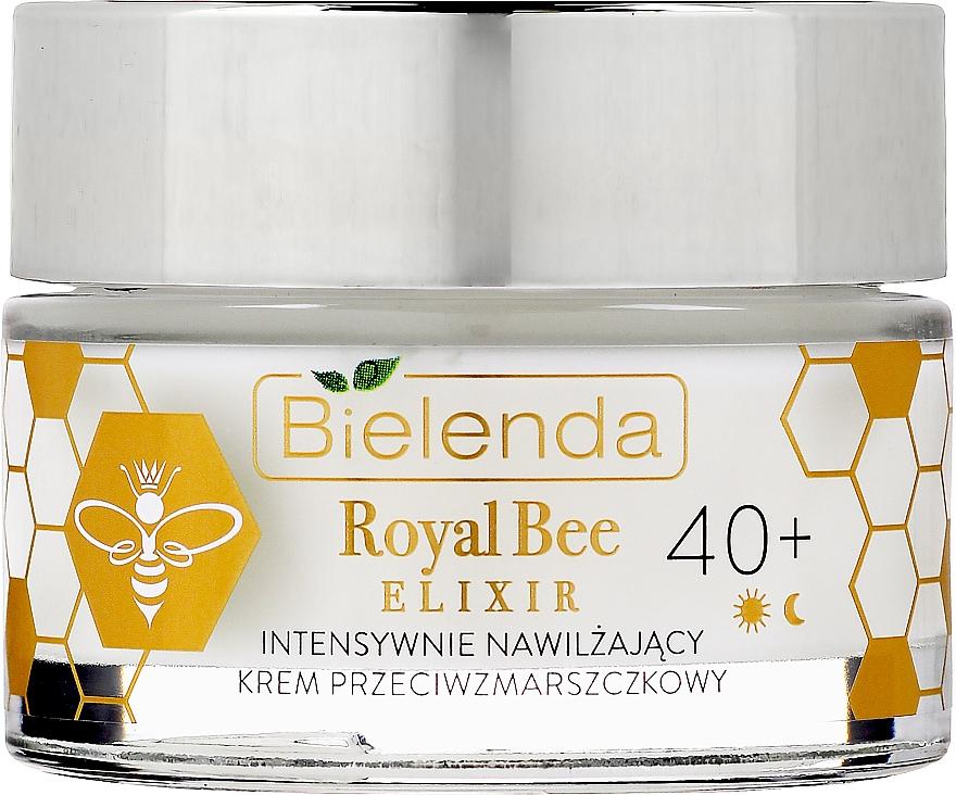 Feuchtigkeitsspendende Anti-Falten Gesichtscreme mit Bienenmilch, Bienenpollen und Manuka-Honig - Bielenda Royal Bee Elixir 40+ Anti-Wrinkle Moisturizing Cream