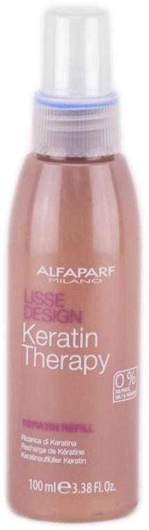 Haarmilch mit Babassuöl und Keratin - Alfaparf Lisse Design Keratin Therapy Refill Milk