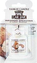 Düfte, Parfümerie und Kosmetik Auto-Lufterfrischer - Yankee Candle Car Jar Ultimate Soft Blanket