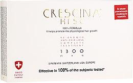 Düfte, Parfümerie und Kosmetik Ampullen gegen Haarausfall für Männer 1300 - Labo Crescina Re-Growth Anti-Hair Loss Complete Treatment 1300 Man