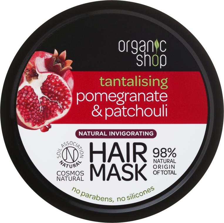 Haarmaske mit Granatapfel & Patschuli - Organic Shop Mask Pomegranate and Patchouli
