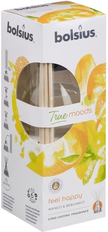 Raumerfrischer Mango & Bergamotte - Bolsius Fragrance Diffuser True Moods Feel Happy