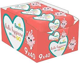 Düfte, Parfümerie und Kosmetik Feuchte Babytücher 9x40 St. - Pampers Kids On The Go