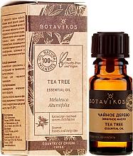 Düfte, Parfümerie und Kosmetik Ätherisches Bio Teebaumöl - Botavikos Tea Tree Essential Oil