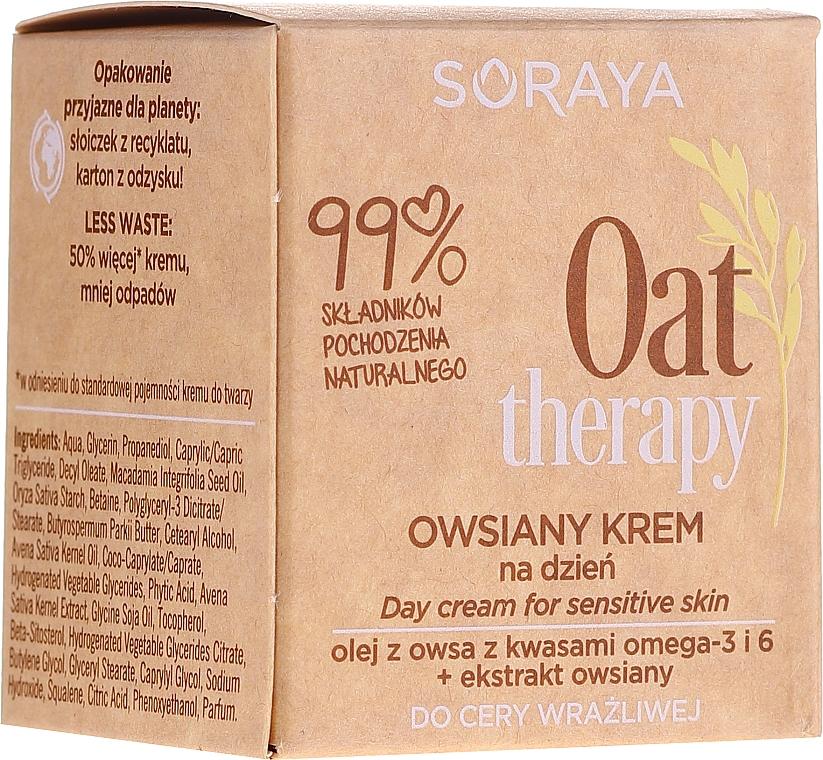 Tagescreme mit Haferextrakt für empfindliche Haut - Soraya Oat Therapy Day Cream