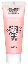 Düfte, Parfümerie und Kosmetik Aufhellende Tonmaske für das Gesicht - Skin79 Animal Color Clay Mask Dark Panda