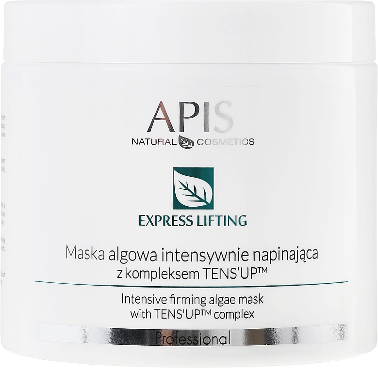 Intensiv glättende Algenmaske für das Gesicht mit Lifting-Effekt - APIS Professional Express Lifting Algid Mask