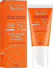 Düfte, Parfümerie und Kosmetik Anti-Aging Sonnenschutzcreme für das Gesicht SPF 50+ - Avene Solaire Anti-Age SPF 50+