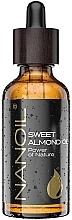 Düfte, Parfümerie und Kosmetik Mandelöl für Gesicht, Haar und Körper - Nanoil Body Face and Hair Sweet Almond Oil
