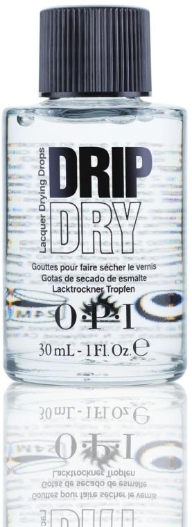 Nagellack-Schnelltrocknungstropfen - O.P.I Drip Dry Drops — Bild N1