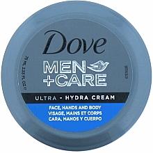 Düfte, Parfümerie und Kosmetik Feuchtigkeitsspendende Creme für Körper, Gesicht und Hände - Dove Men + Care Ultra Hydra Cream