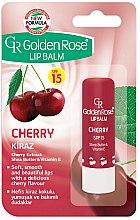 Düfte, Parfümerie und Kosmetik Lippenbalsam - Golden Rose Lip Balm Cherry SPF15