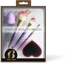 Düfte, Parfümerie und Kosmetik Make-up Set - Beauty Look Sparkly Beauty Brush
