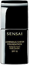Düfte, Parfümerie und Kosmetik Flüssige aufhellende Foundation LSF 15 - Kanebo Sensai Luminous Sheer Foundation
