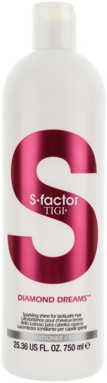 Haarspülung für glänzendes Haar - Tigi Diamond Dreams Conditioner — Bild N1