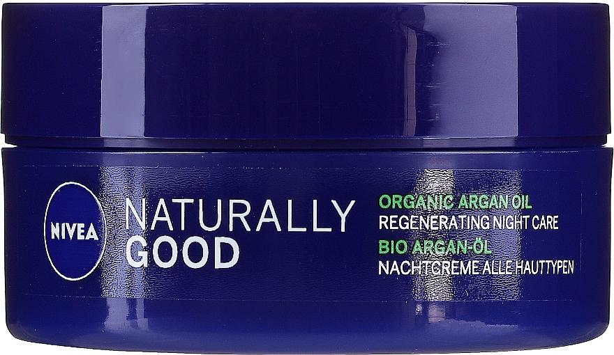 Regenerierende Nachtcreme mit Bio-Arganöl - Nivea Naturally Good Night Regeneration Care