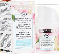 Düfte, Parfümerie und Kosmetik Tagescreme für Gesicht mit Lilienextrakt für normale und Mischhaut - Coslys Facial Care Facial Day CreamWith Lily Extract
