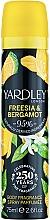Düfte, Parfümerie und Kosmetik Yardley Freesia & Bergamot - Deospray