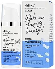 Düfte, Parfümerie und Kosmetik Feuchtigkeitsspendende Gesichtscrememaske für die Nacht - Kili·g Woman Extra Moisturizing Sleeping Mask-Cream