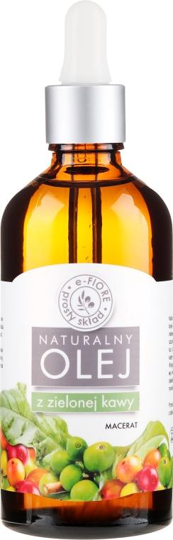 100% Natürliches Öl mit Extrakt aus grünem Kaffee - E-Flore Natural Oil