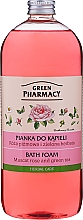 """Düfte, Parfümerie und Kosmetik Badeschaum """"Muscat Rose und grüner Tee"""" - Green Pharmacy"""