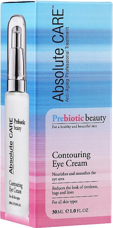Konturierende Augencreme für alle Hauttypen mit Probiotika - Absolute Care Prebiotic Beauty Contouring Eye Cream
