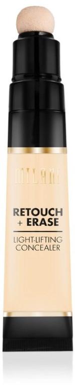Gesichts-Concealer gegen dunkle Augenringe, Flecken und Unreinheiten - Milani Retouch Erase Light-Lifting Concealer