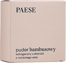 Düfte, Parfümerie und Kosmetik Loser Bambuspuder mit Seidenprotein und Weinextrakt - Paese Bamboo Powder With Silk And Frozen Wine Extract