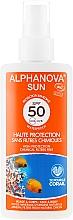 Düfte, Parfümerie und Kosmetik Sonnenspray - Alphanova Sun Protection Spray SPF 50