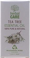 "Düfte, Parfümerie und Kosmetik Ätherisches Öl ""Teebaum"" - Bulgarian Rose Herbal Care Tea Tree Essential Oil"