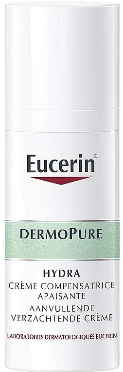 Beruhigende und feuchtigkeitsspendende Gesichtscreme - Eucerin DermoPure Hydra Soothing Compensating Cream