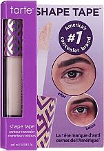 Düfte, Parfümerie und Kosmetik Konturierender Gesichtsconcealer - Tarte Cosmetics Shape Tape Contour Concealer Travel-Size