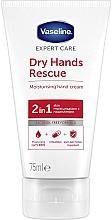 Düfte, Parfümerie und Kosmetik Feuchtigkeitsspendende und antibakterielle Handcreme mit Vitamin E - Vaseline Expert Care Dry Hands Rescue 2in1 Moisturising Hand Cream