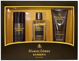 Düfte, Parfümerie und Kosmetik Alvarez Gomez Agua De Colonia Concentrada Barberia - Duftset (Eau de Cologne 150ml + Deospray 150ml + Duschgel 230ml)