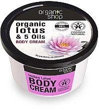 Düfte, Parfümerie und Kosmetik Körpercreme mit Bio Lotusextrakt und 5 Ölen - Organic Shop Body Cream Organic Lotus & 5 Oils