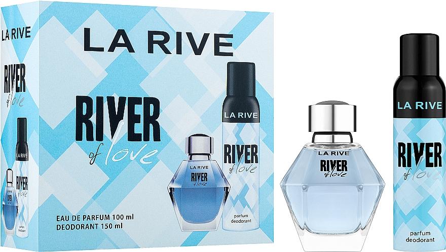La Rive River Of Love - Duftset (Eau de Parfum 100ml + Deospray 150ml)